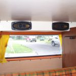 Speakers in a bus